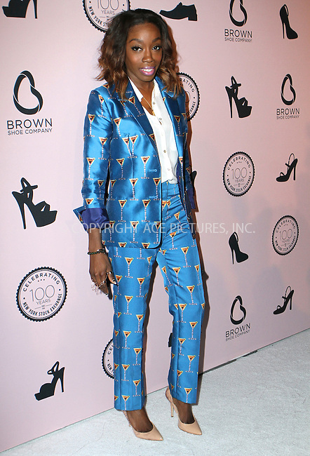 WWW.ACEPIXS.COM<br /> <br /> April 23, 2014 New York City<br /> <br /> Estelle arriving at the Brown Shoe Company celebration of 100 Years on the New York Stock Exchange at 4 World Trade Center in New York City on April 23, 2014.<br /> <br /> By Line: Nancy Rivera/ACE Pictures<br /> <br /> <br /> ACE Pictures, Inc.<br /> tel: 646 769 0430<br /> Email: info@acepixs.com<br /> www.acepixs.com