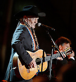 "Singer Willie Nelson performs during ""A Salute to the Troops: In Performance at the White House"" concert on the South Lawn of the White House, November 6, 2014 in Washington, DC. The President and First Lady invited music legends, members of the U.S. military, military veterans, and their families to the White House for a celebration of the men and women who serve in the U.S. Armed Forces. <br /> Credit: Olivier Douliery / Pool via CNP"