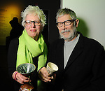 Tracy Wear and David F. Brown at Martini Madness at the Center for Contemporary Craft Thursday Jan. 22,2015.(Dave Rossman For the Chronicle)