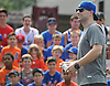 David Wright, New York Mets captain, greets fans during a visit to Coleman Country Day Camp in Merrick on Monday, Aug. 8, 2016.