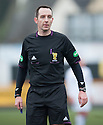 Referee Barry Cook.