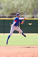Logan Watkins, Chicago Cubs 2010 minor league spring training..Photo by:  Bill Mitchell/Four Seam Images.