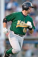 Lynchburg designated hitter Neil Walker (24) runs to first base versus Winston-Salem at Ernie Shore Field in Winston-Salem, NC, Saturday, June 3, 2006.  Winston-Salem defeated Lynchburg 3-2.