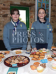 Ellen Kelly and Shannon Smith at the Christmas fair in the Market house Duneer. Photo:Colin Bell/pressphotos.ie
