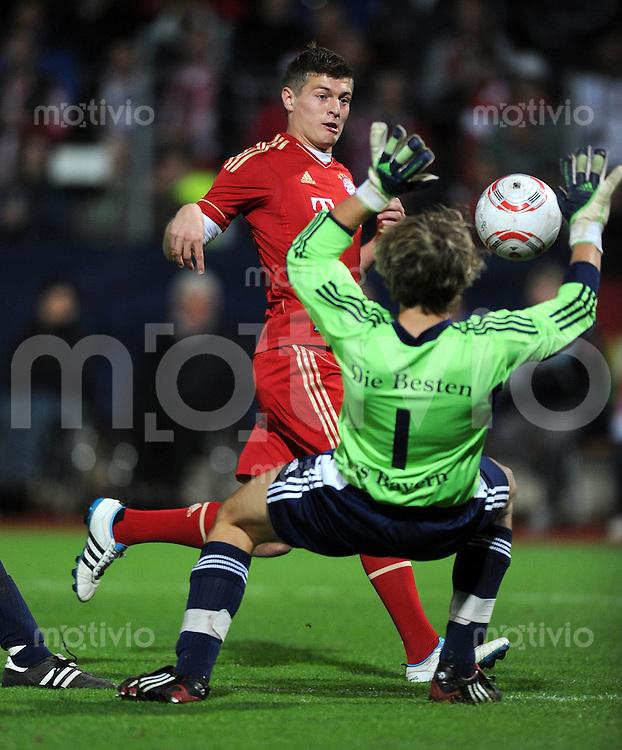 Fussball 1. Bundesliga :  Saison   2011/2012   Freundschaftsspiel  16.05.2011 FC Bayern Muenchen - Paulaner Auswahlteam Toni Kroos (FC Bayern Muenchen)