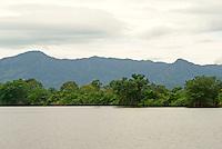Los Micos Lagoon, Jeannette Kawas National Park, Punta Sal, Tela, Honduras...