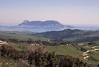 - Gibraltar, the Rock seen from the Spain<br /> <br /> - Gibilterra, la Rocca vista dalla Spagna