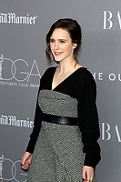 LOS ANGELES - FEB 20:  Rachel Brosnahan at the 20th Costume Designers Guild Awards at the Beverly Hilton Hotel on February 20, 2018 in Beverly Hills, CA