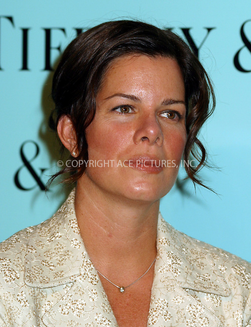 Tiffany & Co. celebrates the launch of a new timepiece collection, The Tiffany Mark. Today, Tiffany honors five outstanding individuals who have set the mark in their industries. PICTURED IS HONOREE MARCIA GAY HARDEN. New York, September 5, 2002.  Please byline: Alecsey Boldeskul/NY Photo Press.   ..*PAY-PER-USE*      ....NY Photo Press:  ..phone (646) 267-6913;   ..e-mail: info@nyphotopress.com