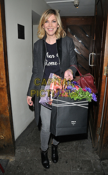 Lisa Faulkner attends the TBSeen.com new celebrity-curated lifestyle shopping platform press launch, Soho House, Old Compton Street, Soho, London, UK, on Monday 04 January 2016.<br /> CAP/CAN<br /> &copy;CAN/Capital Pictures