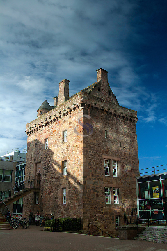 Merchiston Tower (Merchiston Castle), Napier University, Merchiston, Edinburgh, Lothian