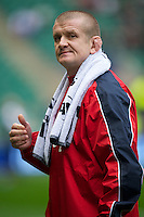Graham Rowntree, England Forwards Coach, before the Cook Cup between England and Australia, part of the QBE International series, at Twickenham on Saturday 17th November 2012 (Photo by Rob Munro)