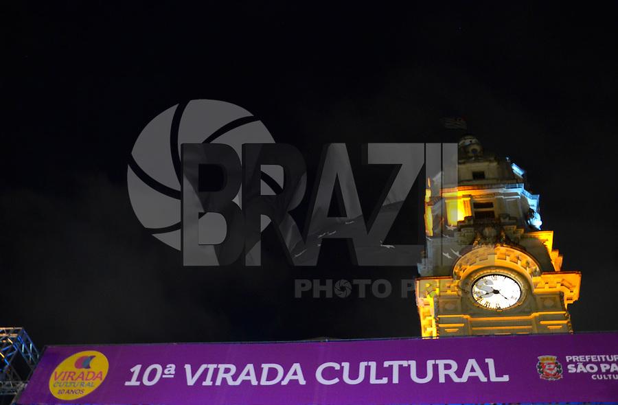 SÃO PAULO. SP 17.05.2014. VIRADA CULTURAL 2014 -  Virada Cultural São Paulo Julio Prestes neste sabado 17 ( Foto : Bruno Ulivieri / Brazil Photo Press )