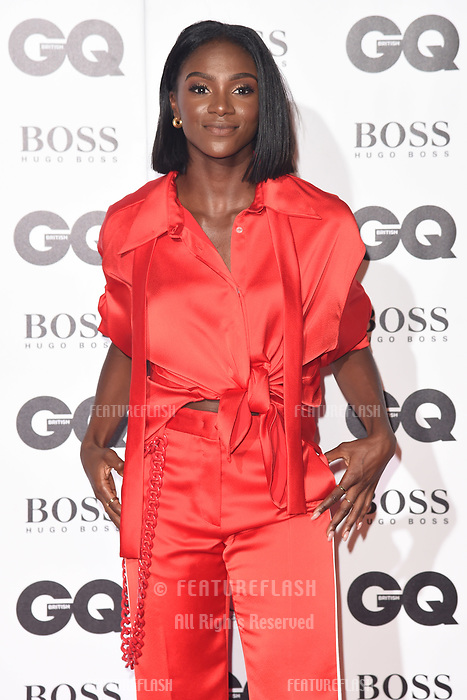 LONDON, UK. September 05, 2018: Dina Asher Smith at the GQ Men of the Year Awards 2018 at the Tate Modern, London