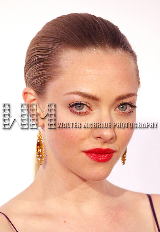 Amanda Seyfried pictured at the 66th Annual Tony Awards held at The Beacon Theatre in New York City , New York on June 10, 2012. © Walter McBride / WM Photography