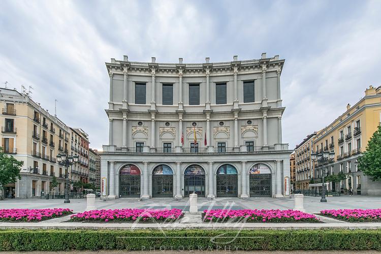 Spain, Madrid, Teatro Real (Royal Opera House)