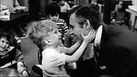 WON'T YOU BE MY NEIGHBOR? (2018)<br /> FRED ROGERS MEETS WITH A DISABLED BOY<br /> *Filmstill - Editorial Use Only*<br /> CAP/FB<br /> Image supplied by Capital Pictures