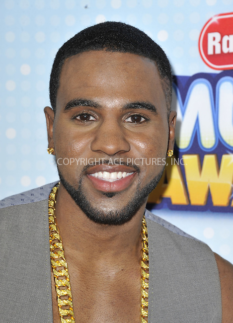 WWW.ACEPIXS.COM....April 27 2013, LA....Jason Derulo arriving at the 2013 Radio Disney Music Awards at the Nokia Theatre L.A. Live on April 27, 2013 in Los Angeles, California...........By Line: Peter West/ACE Pictures......ACE Pictures, Inc...tel: 646 769 0430..Email: info@acepixs.com..www.acepixs.com