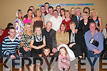 40th: Partying the night away at her 40th birthday in The Abbey Gate Hotel, Tralee, on Saturday night was Sharon Cronin of Tonevane (seated 4th from left), along with family and friends..