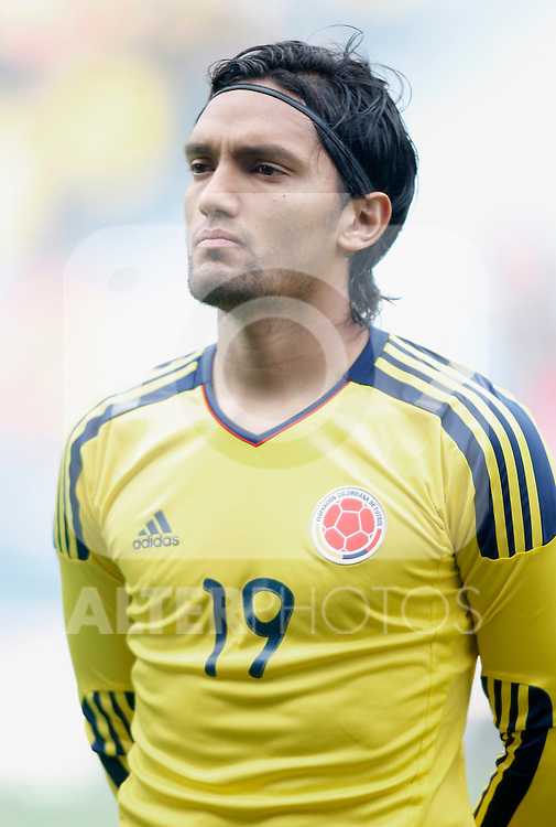 Colombia's national team Abel Aguilar during international friendly. March 26, 2011. (ALTERPHOTOS/Alvaro Hernandez)