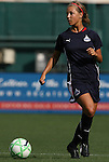 18 July 2009: Washington's Sarah Senty. The Washington Freedom defeated Saint Louis Athletica 1-0 at the RFK Stadium in Washington, DC in a regular season Women's Professional Soccer game.