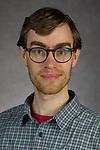 Andy Rasmussen, Adjunct Faculty, School of Computing, College of Computing and Digital Media, DePaul University, is pictured Feb. 27, 2018. (DePaul University/Jeff Carrion)