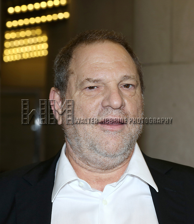 "Harvey Weinstein attending the 2013 Tiff Film Festival Red Carpet for ""Can A Song Save Your Life?""  at The Princess of Wales Theatre on September 7, 2013 in Toronto, Canada."