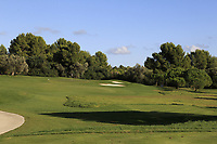 The 5th during the Pro-Am of the Challenge Tour Grand Final 2019 at Club de Golf Alcanada, Port d'Alcúdia, Mallorca, Spain on Wednesday 6th November 2019.<br /> Picture:  Thos Caffrey / Golffile<br /> <br /> All photo usage must carry mandatory copyright credit (© Golffile | Thos Caffrey)