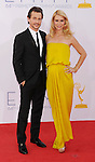 LOS ANGELES, CA - SEPTEMBER 23: Claire Danes and Hugh Dancy arrive at the 64th Primetime Emmy Awards at Nokia Theatre L.A. Live on September 23, 2012 in Los Angeles, California.