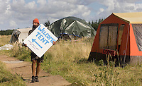 06/08/09 Climate camp protesters