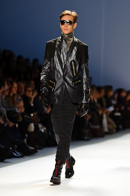Custo Barcelona: Mercedes Benz Fashion Week Fall/Winter 2012