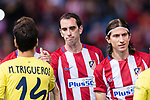 Diego Roberto Godin Leal of Atletico de Madrid during the La Liga match between Atletico de Madrid vs Villarreal CF at the Estadio Vicente Calderon on 25 April 2017 in Madrid, Spain. Photo by Diego Gonzalez Souto / Power Sport Images
