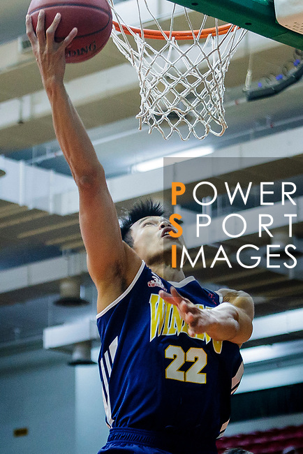 Fong Shing Yee #22 of Winling Basketball Club tries to score during the Hong Kong Basketball League game between Eagle and Winling at Southorn Stadium on May 4, 2018 in Hong Kong. Photo by Yu Chun Christopher Wong / Power Sport Images