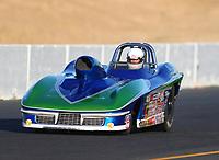 Jul 28, 2017; Sonoma, CA, USA; NHRA super gas driver Aaron Kinard during qualifying for the Sonoma Nationals at Sonoma Raceway. Mandatory Credit: Mark J. Rebilas-USA TODAY Sports