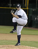 June 17, 2004:  Pitcher Colter Bean of the Columbus Clippers, International League (AAA) affiliate of the New York Yankees, during a game at Frontier Field in Rochester, NY.  Photo by:  Mike Janes/Four Seam Images