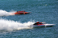 "Jimmy King, GP-10 ""The Charger"" and Ken Brodie II, GP-50 ""Intensity""  (Grand Prix Hydroplane(s)"