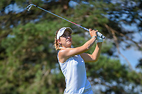 Luna Sobron Galmes (ESP) watches her tee shot on 3 during round 1 of the 2018 KPMG Women's PGA Championship, Kemper Lakes Golf Club, at Kildeer, Illinois, USA. 6/28/2018.<br /> Picture: Golffile | Ken Murray<br /> <br /> All photo usage must carry mandatory copyright credit (&copy; Golffile | Ken Murray)