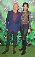 Sir Ben Kingsley and Daniela Lavender at the OVO by Cirque du Soleil press night, Royal Albert Hall, Kensington Gore, London, England, UK, on Wednesday 10 January 2018.<br /> CAP/CAN<br /> &copy;CAN/Capital Pictures