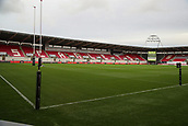 29th September 2017, Parc y Scarlets, Llanelli, Wales; Guinness Pro14 Rugby, Scarlets versus Connacht; General view from inside stadium