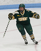 Bridget Baker (UVM - 16) -  The Boston College Eagles defeated the University of Vermont Catamounts 4-3 in double overtime in their Hockey East semi-final on Saturday, March 4, 2017, at Walter Brown Arena in Boston, Massachusetts.