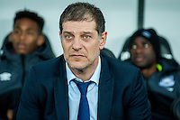 Manager of West Ham United, Slaven Bilic during the Barclays Premier League match between Swansea City and West Ham United played at the Liberty Stadium, Swansea  on December 20th 2015