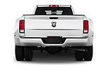 Straight rear view of 2017 Ram Ram 3500 Tradesman Crew Cab Long 4 Door Pick Up stock images