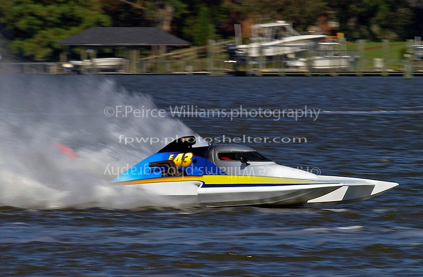"Jim Martin, E-43 ""Keen's Sunday Money"" (5 Litre class hydroplane(s)"
