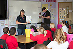 Welsh Water lesson at Llysfaen primary School.<br /> 02.10.15<br /> Pradip Kotecha - FOTOWALES
