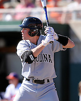 University of South Carolina's Scott Wingo in a game between the Clemson Tigers and USC Gamecocks on March 2, 2008, at Doug Kingsmore Stadium in Clemson. Photo by: Tom Priddy/Four Seam Images