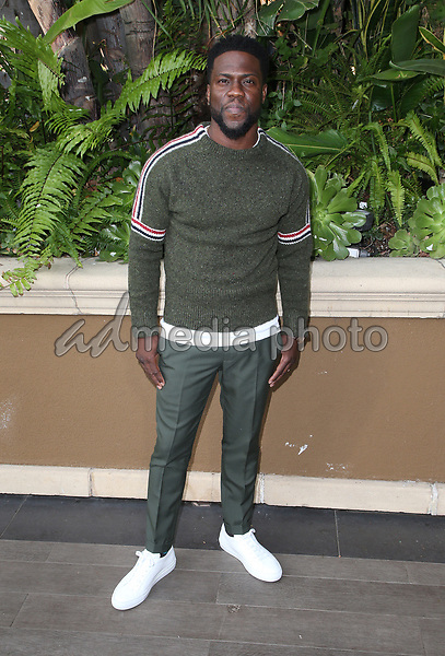 "30 October 2018 - Beverly Hills, California - Kevin Hart. ""The Upside"" Photo Call held at The Four Seasons Beverly Hills. Photo Credit: Faye Sadou/AdMedia"