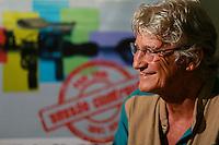 Fotógrafo e cineasta, Vincent Carelli.<br /> Vincent Carelli é um antropólogo, indigenista e documentarista franco-brasileiro, criador do projeto Vídeo nas Aldeias, que forma cineastas indígenas.<br /> Belém, Pará, Brasil.<br /> Foto Carlos Borges