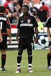 11 August 2004: Freddy Adu during player introductions. DC United defeated the Colorado Rapids 3-1 at RFK Stadium in Washington, DC during a regular season Major League Soccer game..