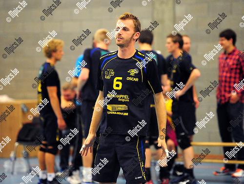2014-08-30 / Volleybal / seizoen 2014-2015 / Amigos Zoersel / Oscar Nuijten<br /><br />Foto: Mpics.be
