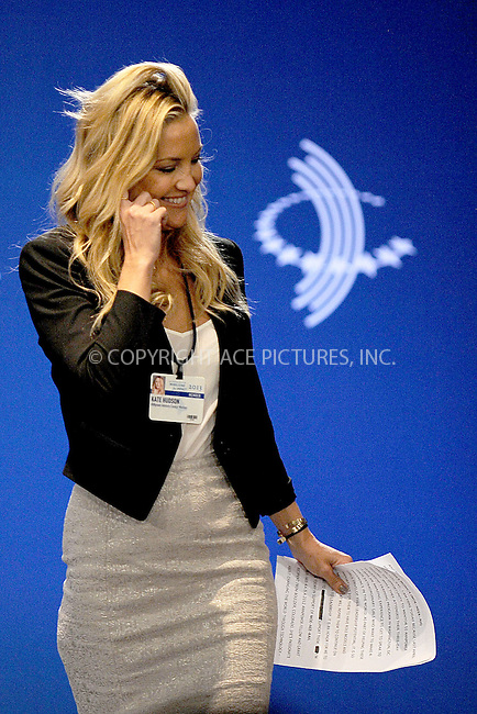 WWW.ACEPIXS.COM<br /> September 25, 2013...New York City<br /> <br /> Kate Hudson on stage during the annual Clinton Global Initiative (CGI) meeting on September 25, 2013 in New York City.<br /> <br /> Please byline: Kristin Callahan/Ace Pictures<br /> <br /> Ace Pictures, Inc: ..tel: (212) 243 8787 or (646) 769 0430..e-mail: info@acepixs.com..web: http://www.acepixs.com